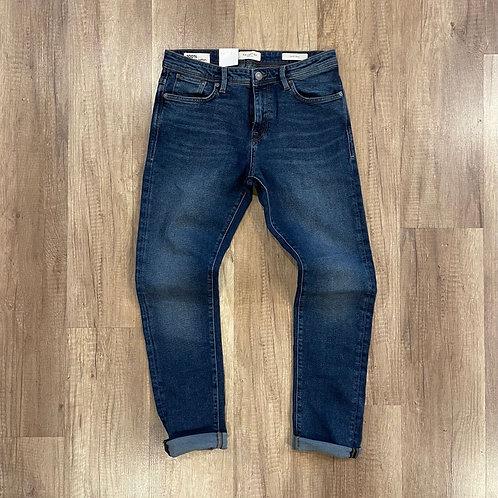 Jeans Selected Lavaggio Scuro Slim
