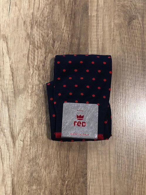 Calzini Red Sox Appeal Blu Pois Rossi