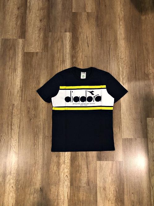 T-shirt Diadora Nera, Gialla e Bianca