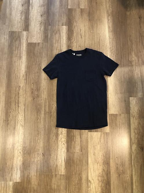 T-shirt Selected Blu Taschino