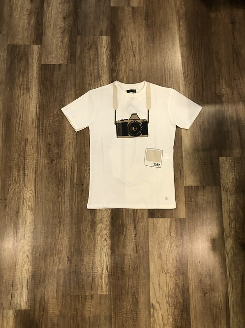 T-shirt Outfit Fantasia Macchina Fotografica