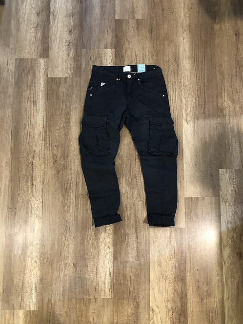 Pantalone Blu Beige Tasconato Slim