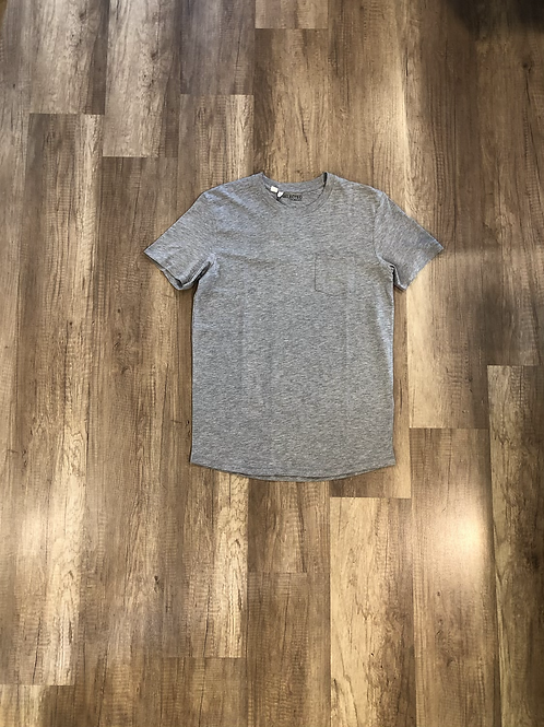 T-shirt Selected Grigia Taschino