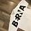 Thumbnail: T-shirt Berna Over Bianca Logo