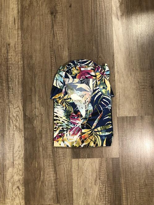 Camicia Over-D Palme