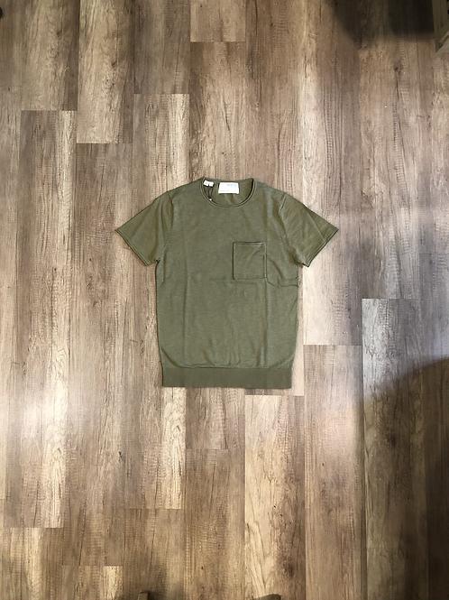 T-shirt Selected Verde Militare