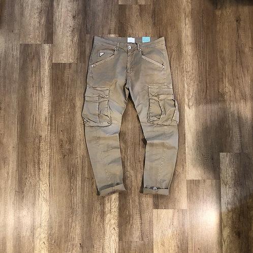 Pantalone Berna Beige Tasconato Slim