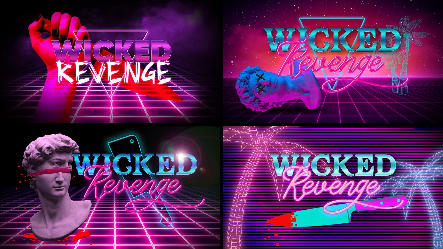 Wicked Revenge Marathon Vaporwave exploration