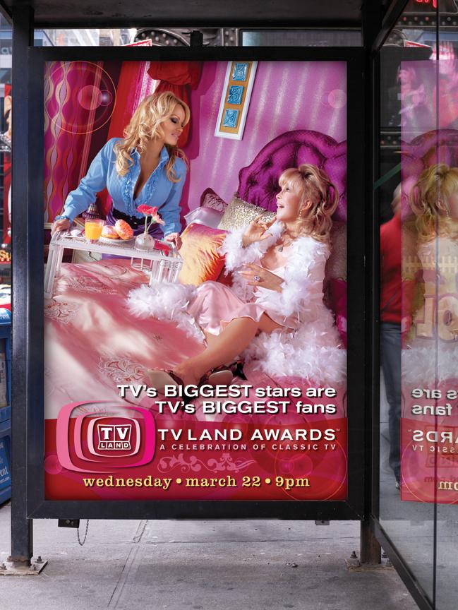 TV Land Awards campaign