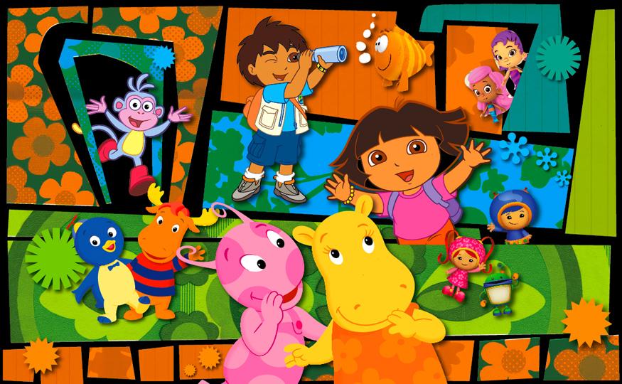 Nickelodeon mural