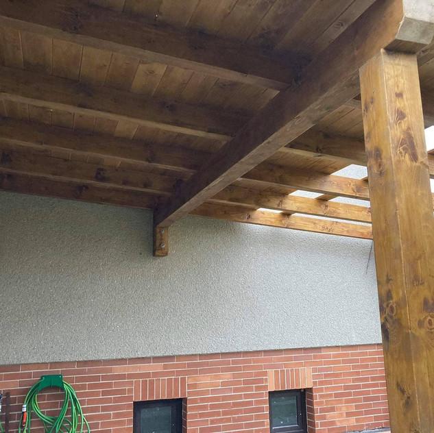 Dřevěná pergola, Svitavy
