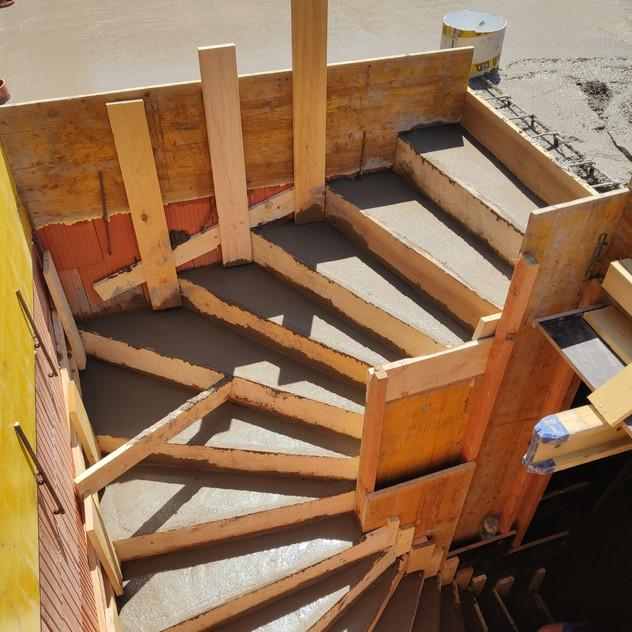 Betonové schodiště, Brno-Medlánky