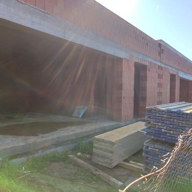 Betonový strop a schodiště, Zábludov
