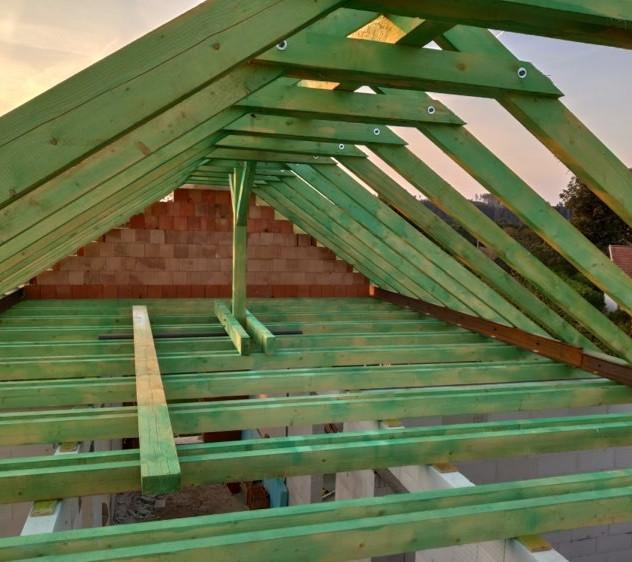 Dřevěná střecha, Zábludov