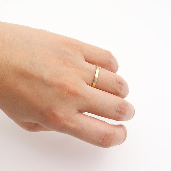 Simple Band - 18k Gold