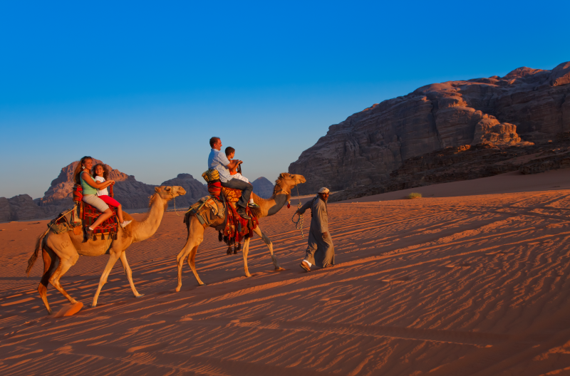 Camel Ride in Wadi Rum.TIF