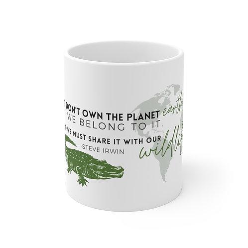 Steve Irwin Wildlife Mug