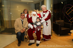 Photos with Santa and Mrs. Claus