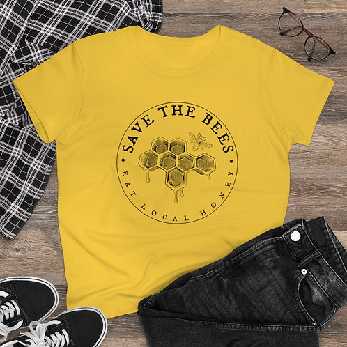 Save the Bees Women's Cotton Shirt