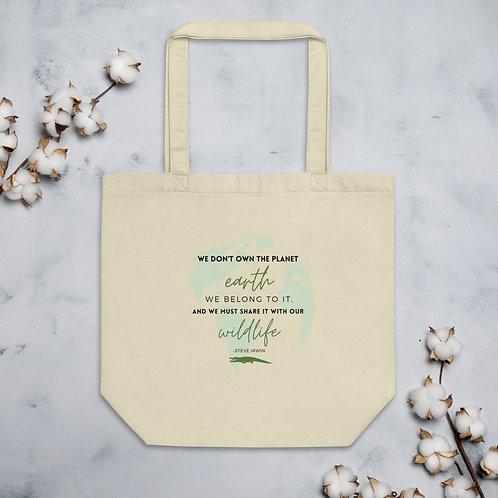 Steve Irwin Wildlife Eco Tote Bag
