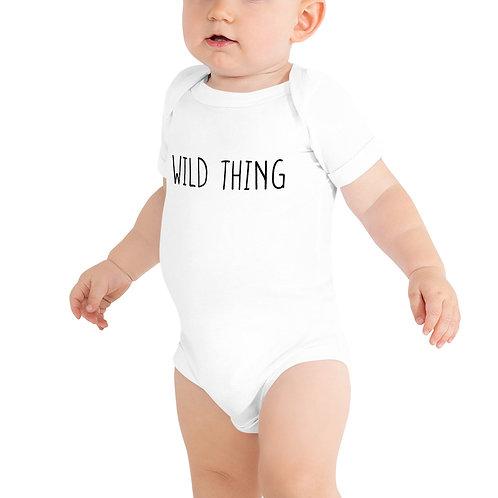 Wild Thing Baby Onesie