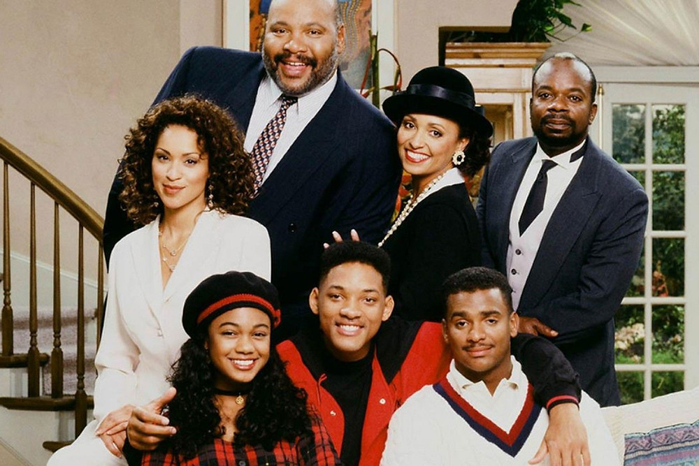 The Cast From Black Family Sitcom The Fresh Prince Of Bel Air
