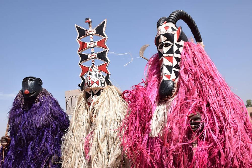 Festival International des Masques FESTIMA African Masks Burkina Faso Celebration