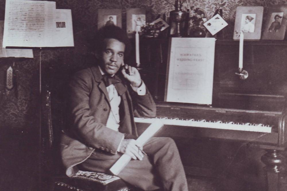 Samuel Coleridge-Taylor Black British Heritage Historical Figure Portrait Photograph Musician Composer