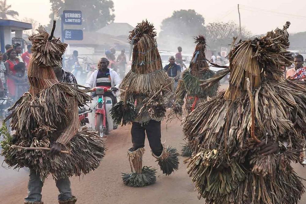 Odo Festival Nigeria Lgbo Tribe Celebration Costume African