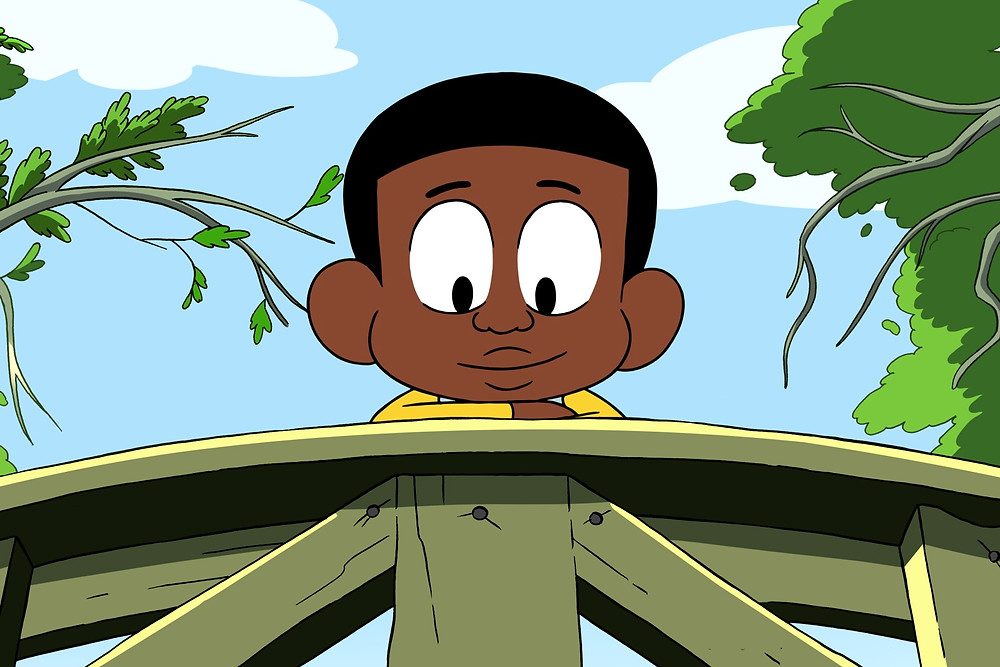 Black Main Character From Animated TV Show Craig Of The Creek