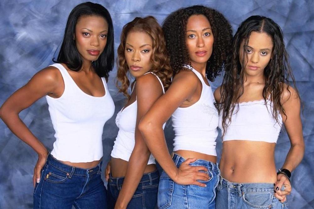 Black Lead Female Characters Joan (Tracee Ellis Ross), Toni (Jill Marie Jones), Lynn (Persia White), Maya (Golden Brooks) In TV Show Girlfriends