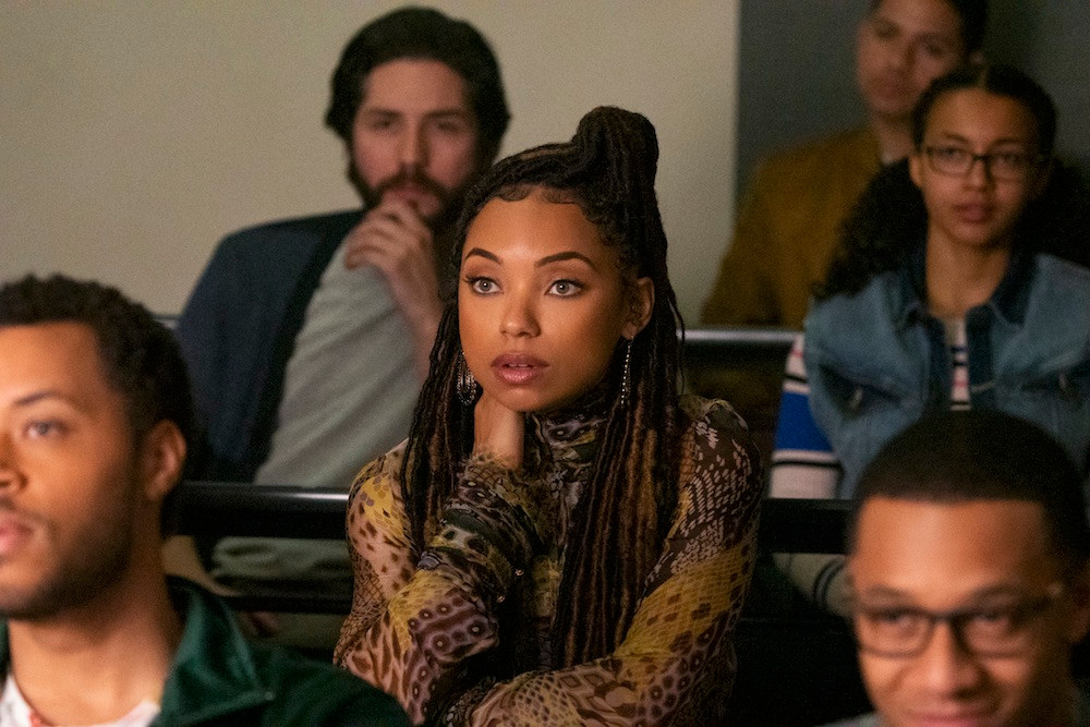 Black Lead Female Character Samantha (Logan Browning) In TV Show Dear White People