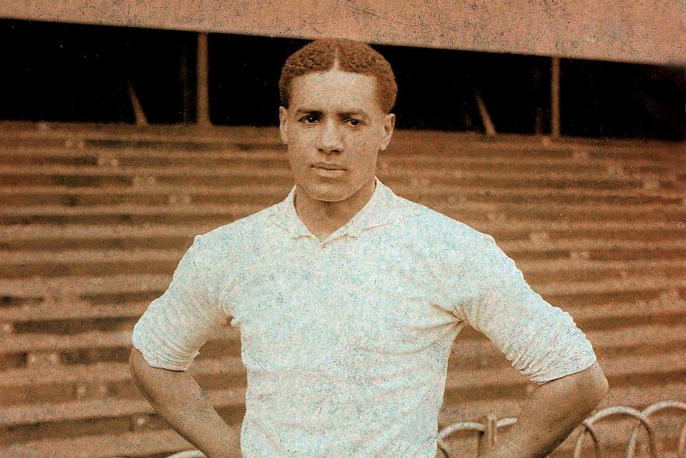 Walter Tull Black British Heritage Historical Figure Portrait Photograph Footballer Tottenham British Army