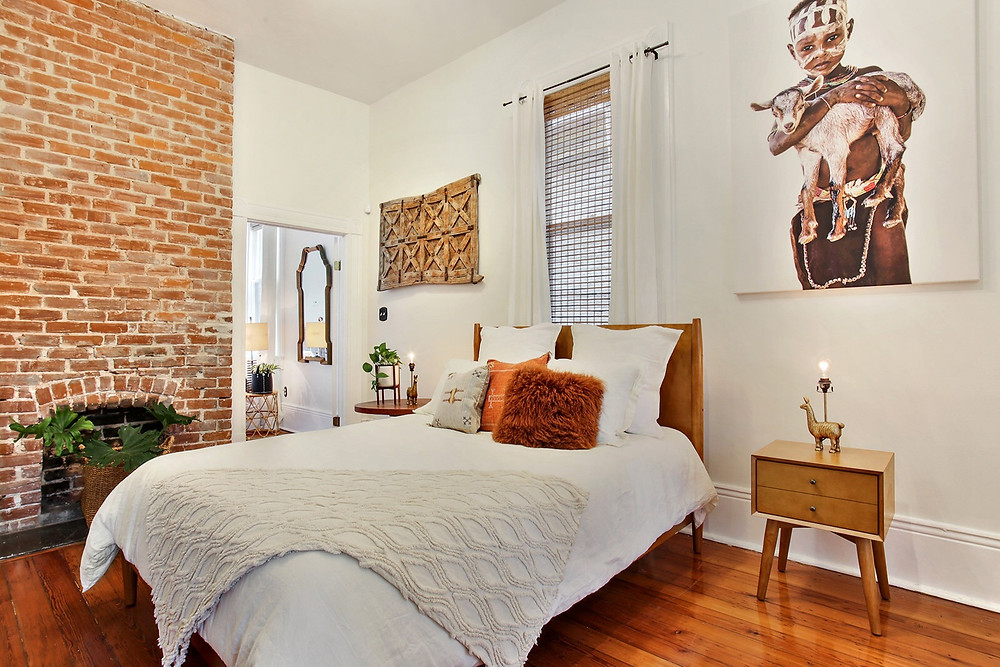 The interior design at Black-Owned boutique hotel The Moor