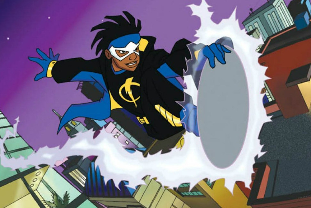 Black Main Character From Animated TV Show Static Shock