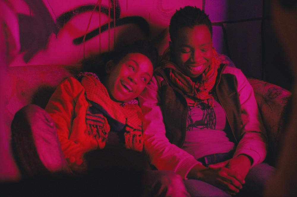 Black female leads Alike (Adepero Oduye) Laura (Pernell Walker) from indie coming of age film Pariah