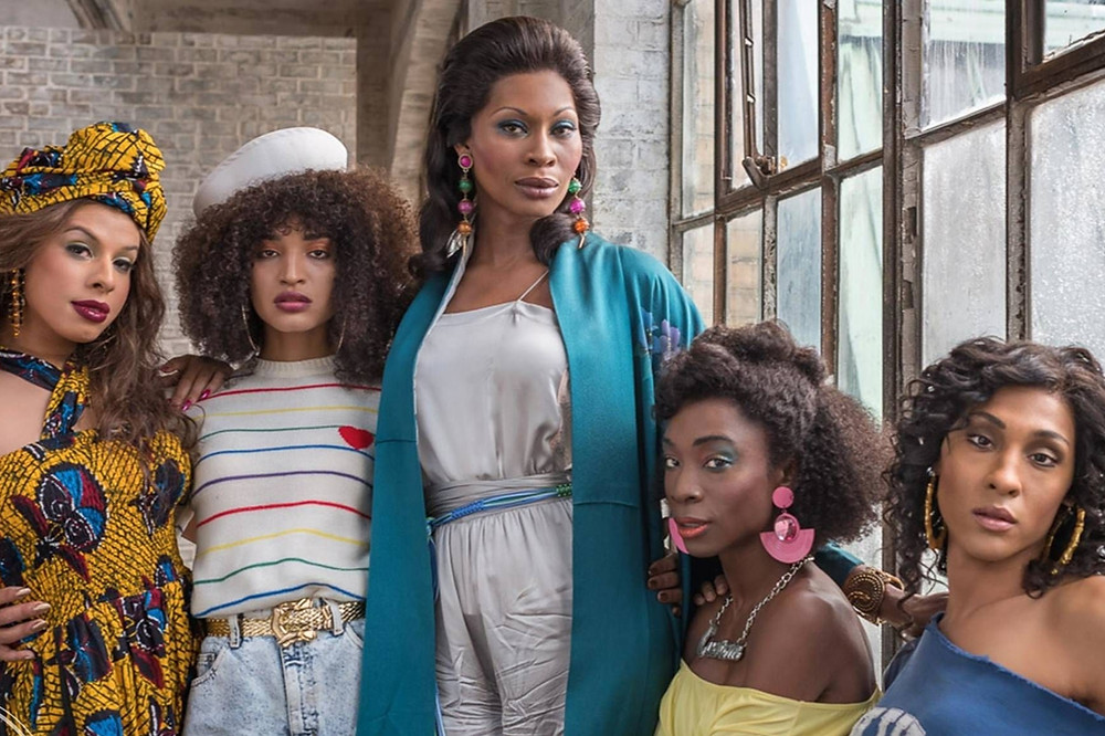 Black Lead Female Characters Elektra Wintour (Dominique Jackson) and Bianca (Mj Rodriguez) In TV Show Pose