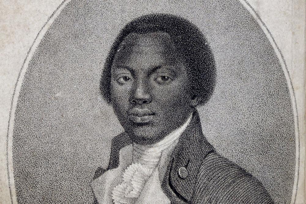 Olaudah Equiano Black British Heritage Historical Figure Portrait Painting
