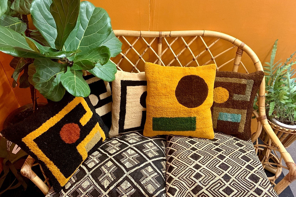 African based design studio Kilubukila's pillows