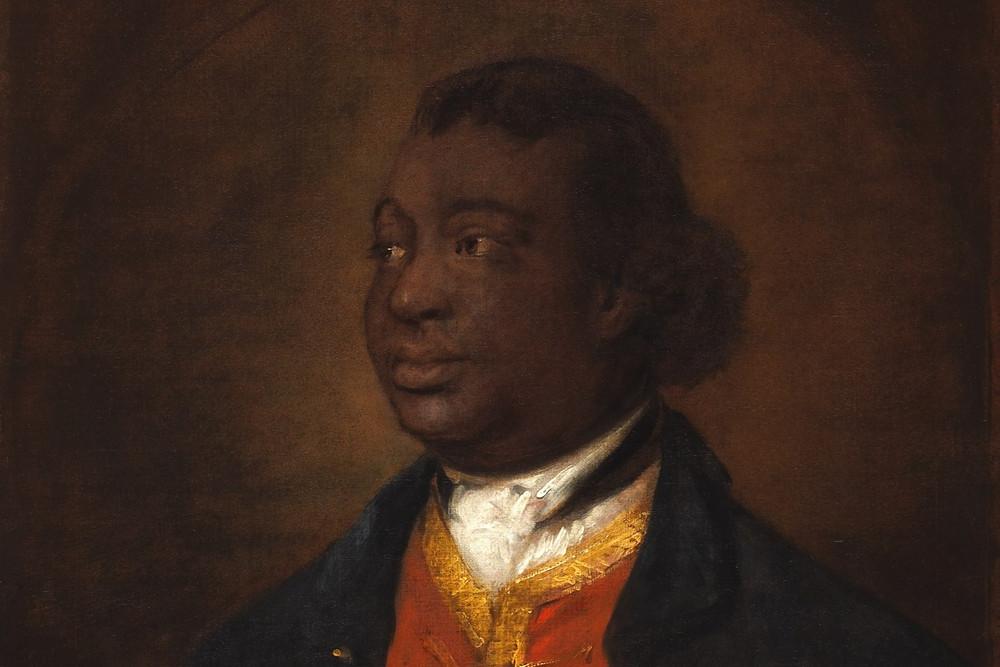 Ignatius Sancho Black British Heritage Historical Figure Portrait Painting