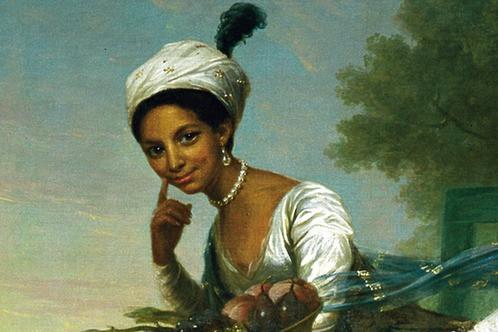 Dido Elizabeth Belle Black British Heritage Historical Figure Portrait Painting
