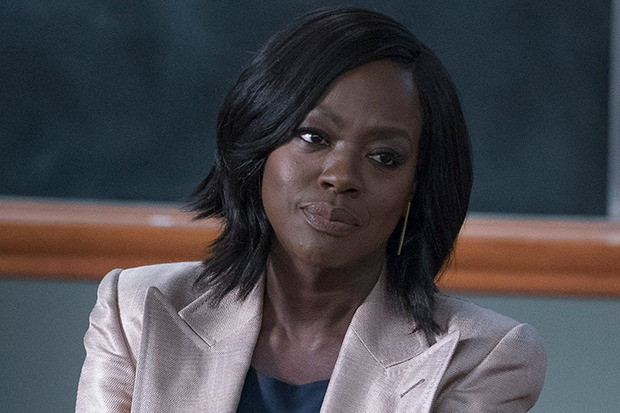 Black Lead Female Character Annalise (Viola Davis) In TV Show How To Get Away With Murder