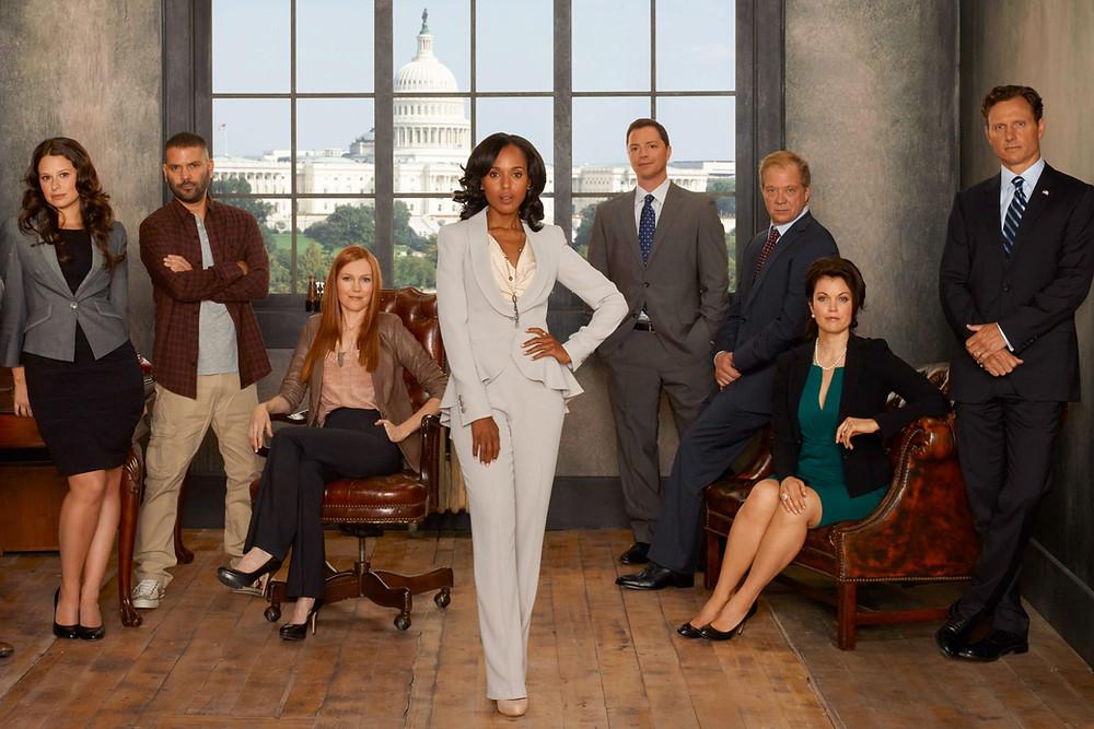 Black Lead Female Character Olivia Pope (Kerry Washington) In TV Show Scandal