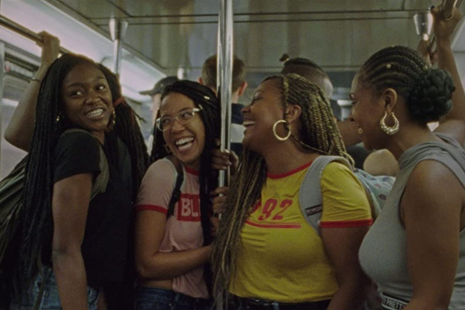 Black female cast from indie coming of age film Premature