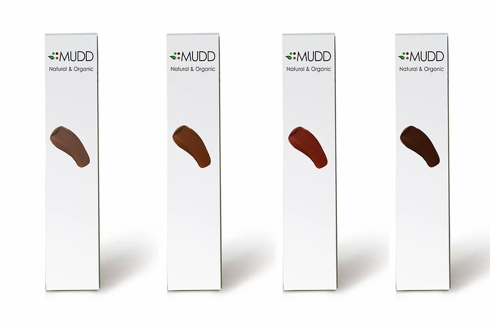 Black owned vegan make up brand Mudd Beauty lipstick four different shades