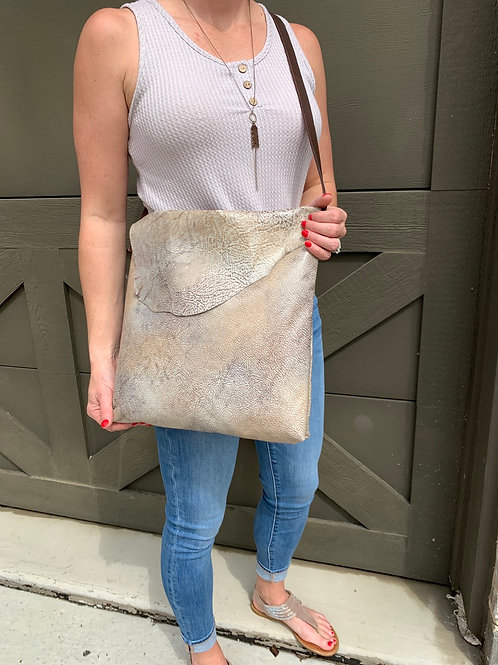 Marbled Cross-body Bag