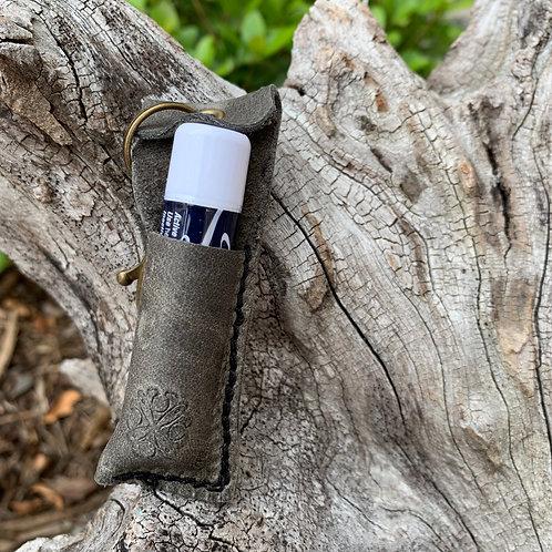 Chapstick Keychain-grey