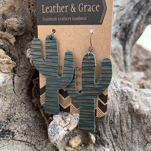 Golden Green Cactus