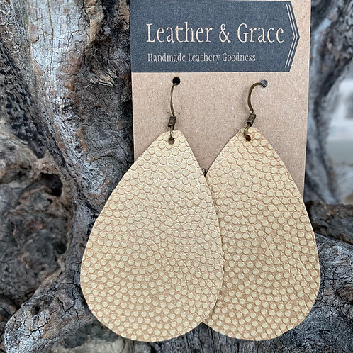 Butter Embossed Giant Drops