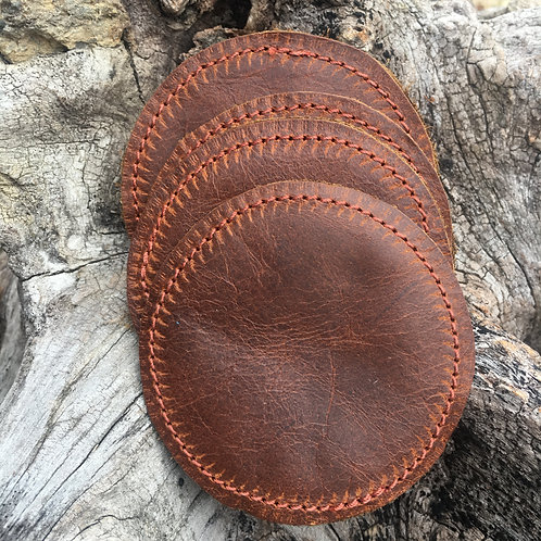 Coasters: Burn Umber Brown